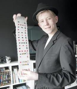 Lasse Lisby close up trylleri med kort